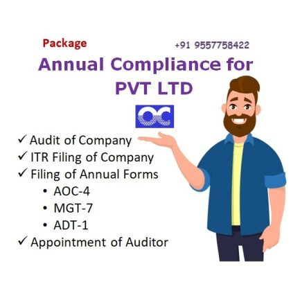PRIVATE LIMITED ANNUAL COMPLIANCE PACKAGE