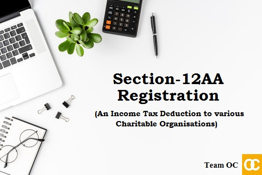 Section-12AA Registration